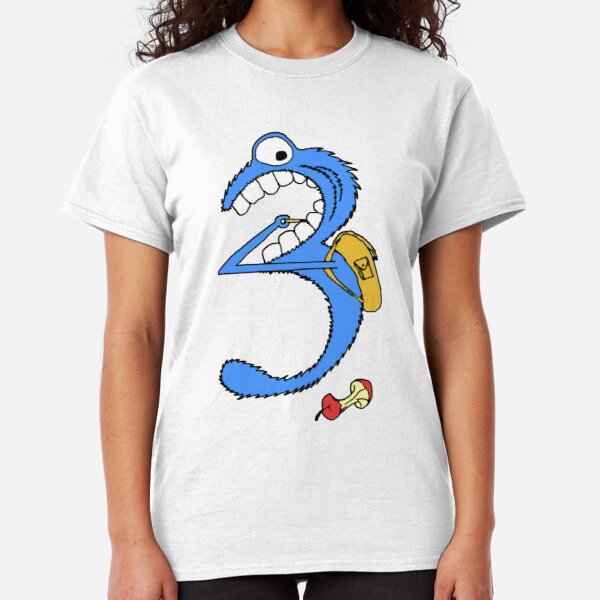 Number 3 Classic T-Shirt