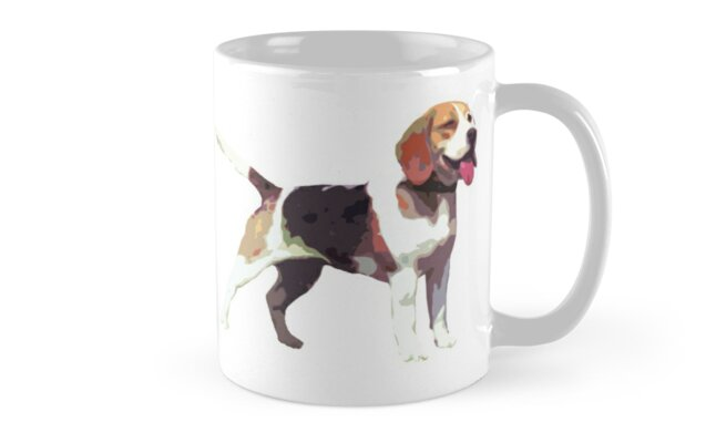 Beautiful Betty Beagle by Hallmm