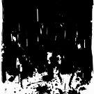 black paint print by tonadisseny