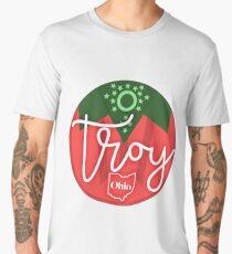 Troy Ohio Strawberry Sticker Men's Premium T-Shirt