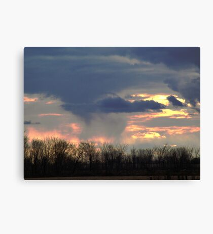 The Changing Sky Canvas Print