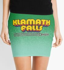 Klamath Falls, Oregon | Retro Stripes Mini Skirt