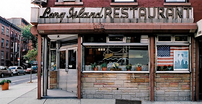 STORE FRONT: The Disappearing Face Of New York: LONG ISLAND Restaurant by James and Karla Murray