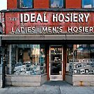 STORE FRONT: The Disappearing Face Of New York: IDEAL Hosiery by James and Karla Murray