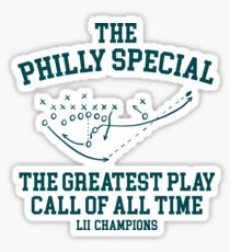 The Philly Special T Shirt for Men and Women Sticker