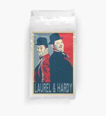 LAUREL UND HARDY, HOFFNUNGS-POSTER Bettbezug