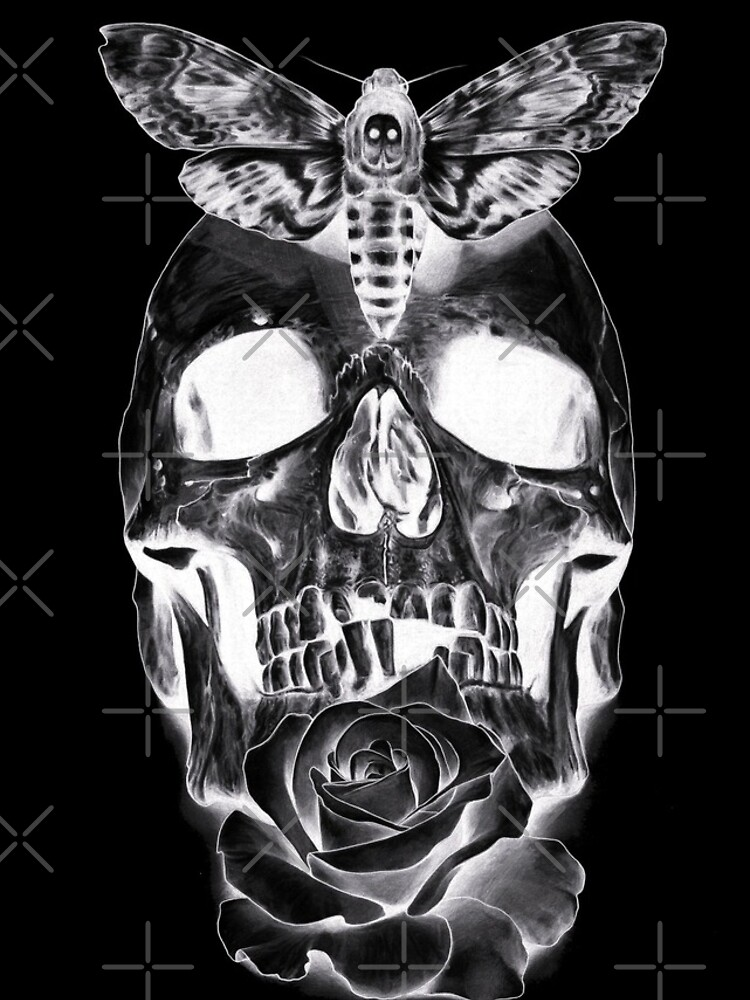 Rose & Skull by SN1P3R