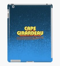 Cape Girardeau, Missouri | Retro Stripes iPad Case/Skin