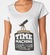 Astronomy Time Machine Women's Premium T-Shirt