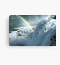 Rainbows Over the Falls Canvas Print