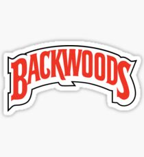 Backwoods Rolling Papers Apparel Sticker