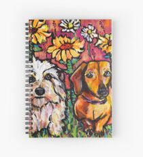 Mickey and Daisy Spiral Notebook
