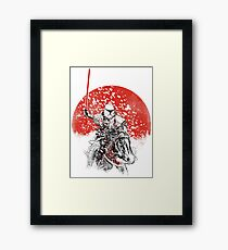 samurai trooper Framed Print