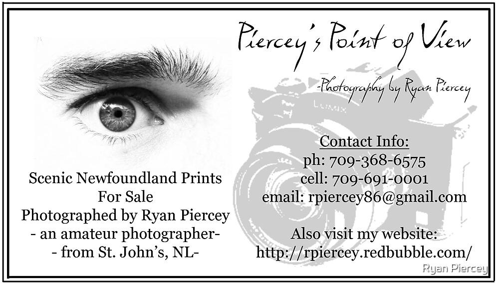 Business Card by Ryan Piercey
