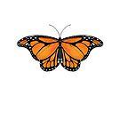 Butterfly Nr 1 - Wanderer (Monarch) Butterfly  by Heatherian