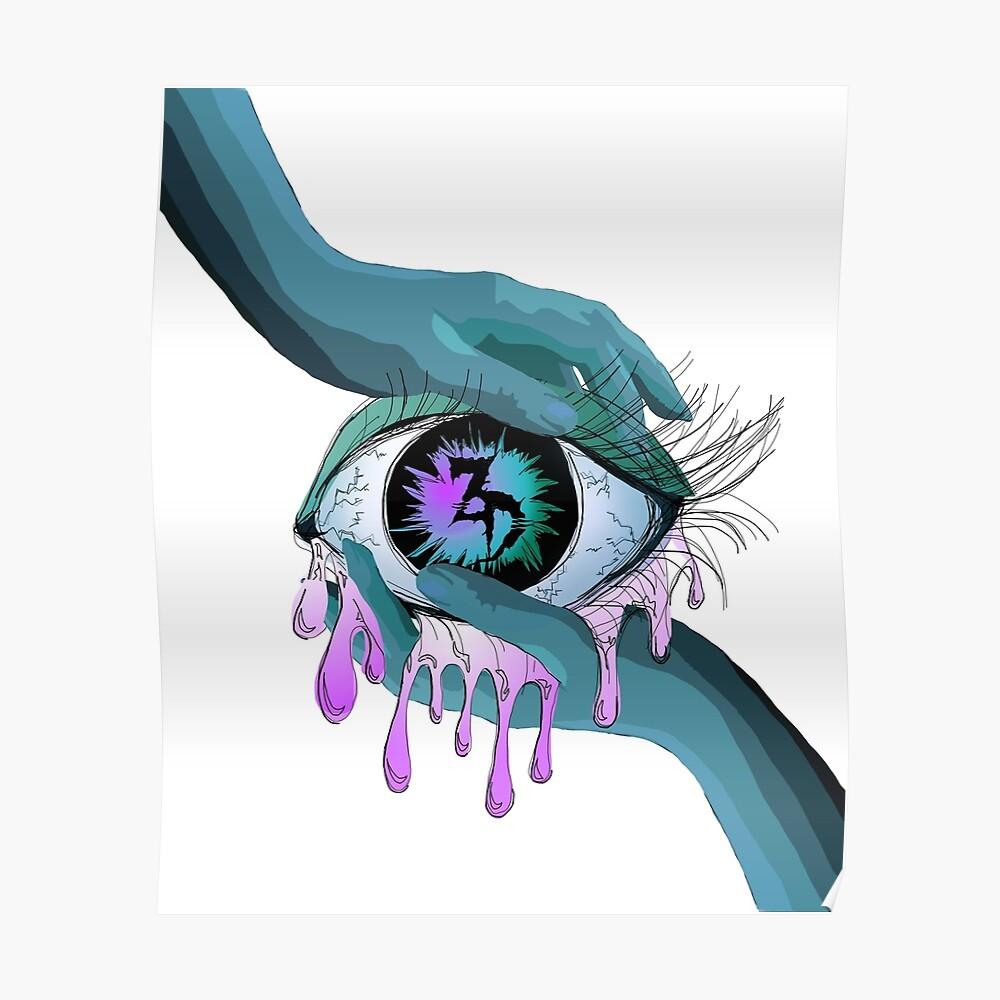 Zeds Dead EDM Auge Kunst Poster