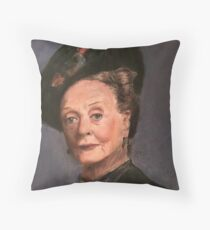 Violet Crawley Throw Pillow