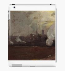 Evening Train to Hawthorn by Tom Roberts iPad Case/Skin
