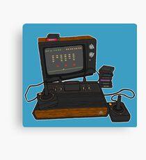 Atari TV Canvas Print