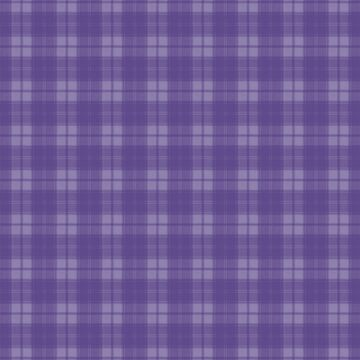 Intense Ultra Violet purple  Plaid by coverinlove