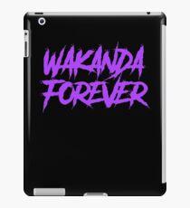 Wakanda Forever Purple - Black Panther iPad Case/Skin