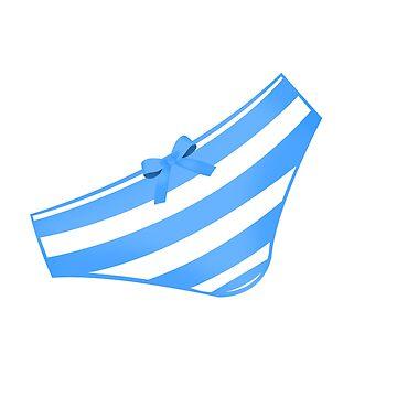 Anime Panties Blue by FlariousPony