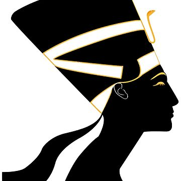 Gold & Black Nefertiti by CRWPROD