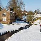 Winter in Hutton-Le-hole by dougie1