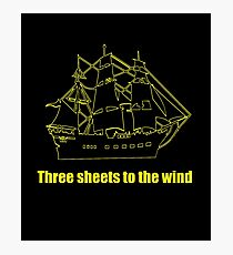 Tree sheets to the wind Photographic Print