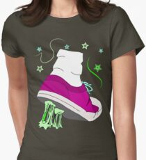 Chewing Gum Womens Fitted T-Shirt