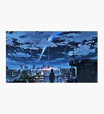 Kimi no na wa (your name) Photographic Print