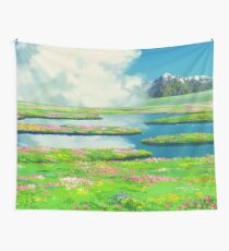 Green Mountains Wall Tapestry