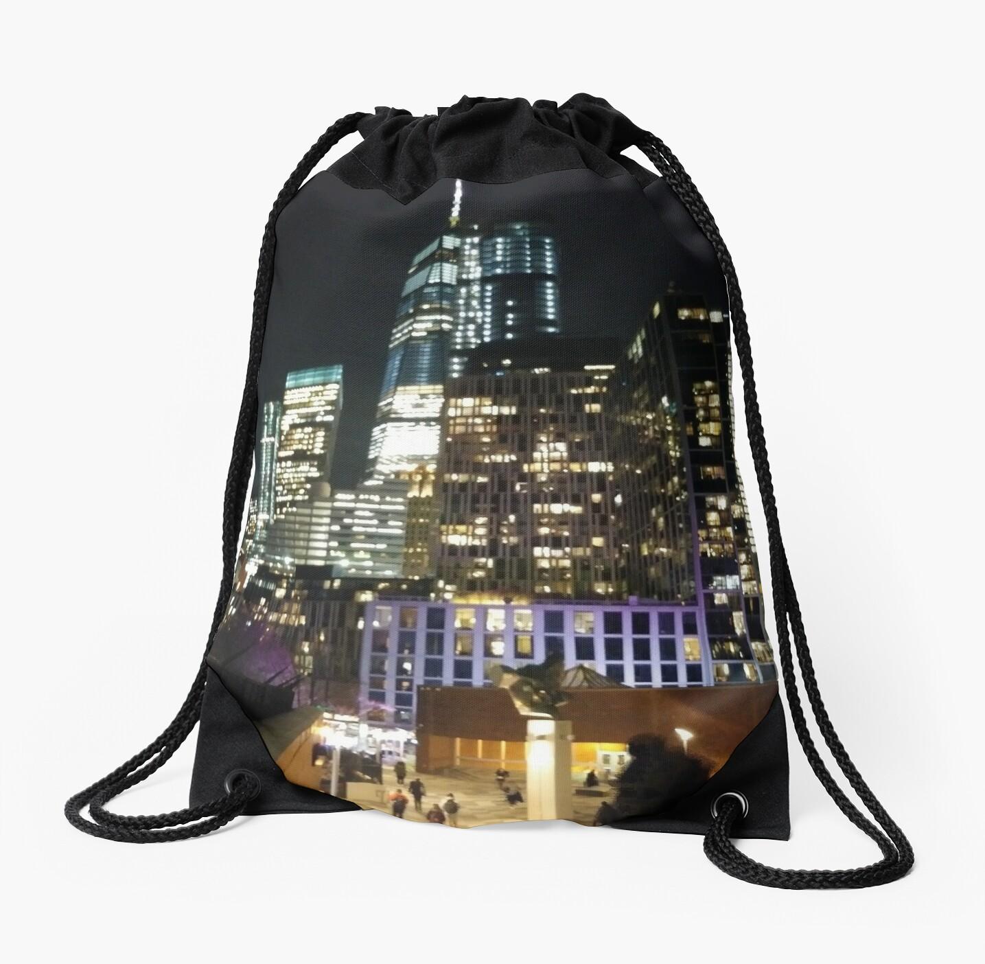 New York, Brooklyn, Manhattan, New York City, Buildings, streets, trees by znamenski