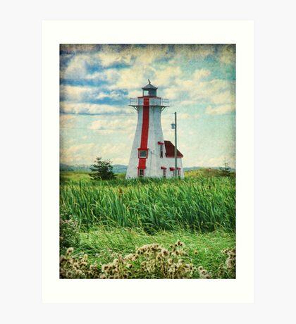 New London Lighthouse, PEI Art Print