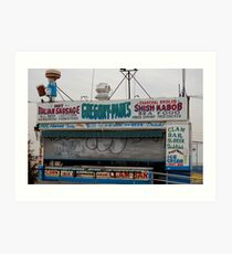 Coney Island No.7 Art Print