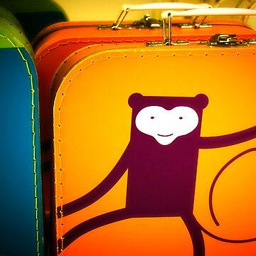 Monkey Luggage by scraff