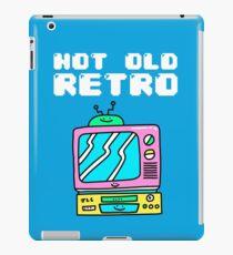 Not Old, Retro iPad Case/Skin