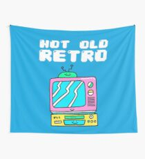 Not Old, Retro Wall Tapestry