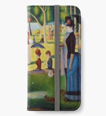 A Sunday Afternoon on the Island of La Grande Jatte iPhone Wallet/Case/Skin