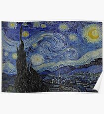 Vincent van Gogh The Starry Night Poster