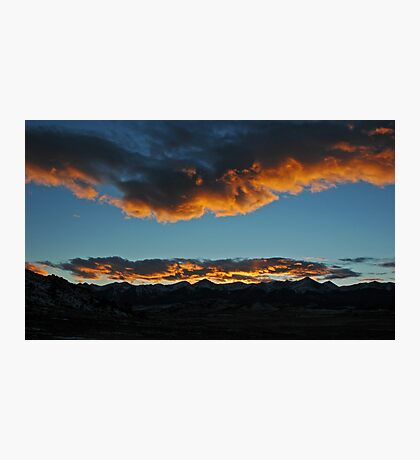 Westcliffe Sunset Photographic Print