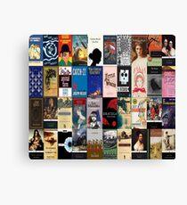 Classic Literature Book Covers  Canvas Print