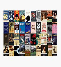 Classic Literature Book Covers  Photographic Print