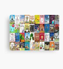 Children Picture Book Covers  Canvas Print