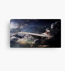 Concorde Canvas Print
