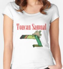 Toucan samual. Women's Fitted Scoop T-Shirt