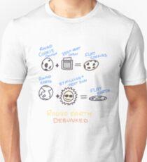 Flat Earth Theory Unisex T-Shirt
