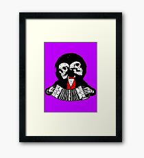 Two Man Band Framed Print