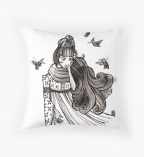 Remembering His Touch Throw Pillow