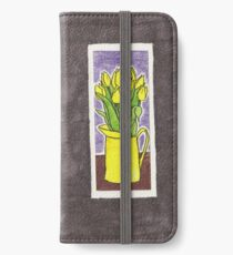 Yellow Tulips iPhone Wallet/Case/Skin